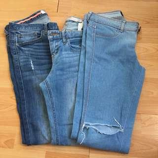Skinny Jeans Bundle (branded)
