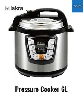 PRESSURE COOKER 6L