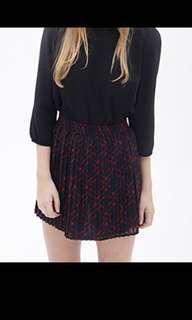 Authentic f21 plaid skirt