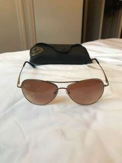 Ray Bans Aviators with case