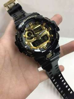 GA-700 BLACKGOLD WATCH