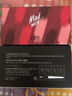 Clio Matte Mad Lip Palette