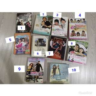 Korean Drama DVDs/CVD