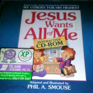 Cd Rom Jesus wants All of Me