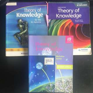 TOK Textbooks (Cambridge, Hodder Education And Etcetera) (IB Theory Of Knowledge)