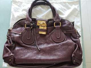 Chloe lock bag! 99% brand new