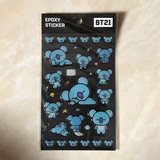 BT21 (KOYA STICKER)