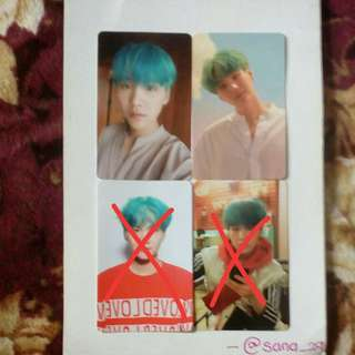 WTS BTS LY SUGA PC SET