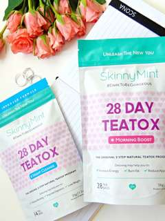 🚚 (Authentic) Skinnymint 28day Teatox