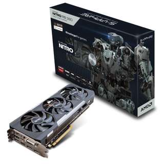 SAPPHIRE NITRO Radeon™ R9 390 8G with back plate