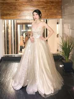 Custom made gown Apartment 8