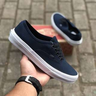 Sepatu vans authentic mono Dress blue BNIB ORIGINAL