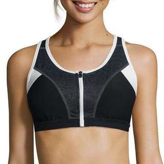 Xersion Sports Bra (Zip front)