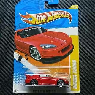 HotWheels Honda S2000 S2K Red RARE JDM