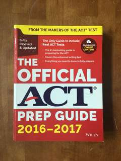 The Official ACT Prep Guide (Newest Version)