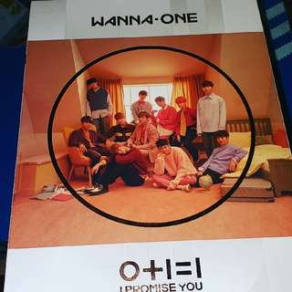 Wanna One I promise you 可以淨專亦可以加兩張小卡