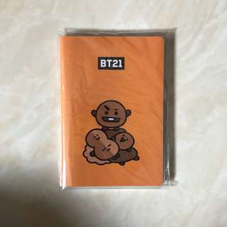 BT21 (SHOOKY NOTEBOOK)