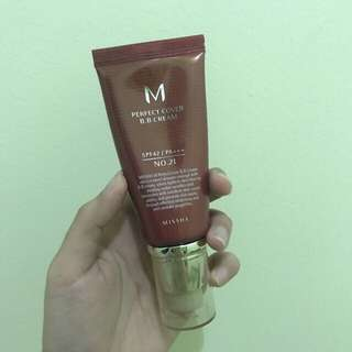 [ORIGINAL] Missha Perfect Cover BB Cream SPF42/PA+++ (50ml)