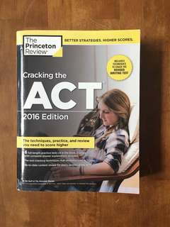The Princeton Review Cracking The ACT Textbook (Brand New)