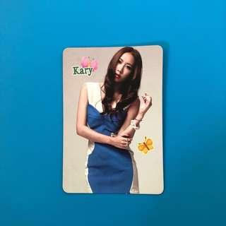 (包郵) 吳雨霏 Yes卡 / Kary Yes Card