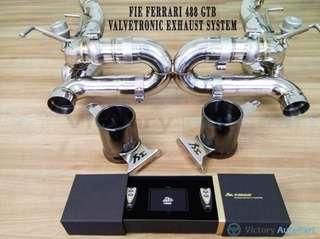FIE FERRARI 488 GTB VALVETRONIC EXHAUST SYSTEM
