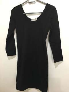 Forever21 Bodycon Dress Black