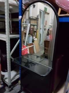 Hair Dresser Standing Mirror