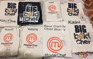 Personalized Aprons ANY DESIGN with FREE Matchy Keychain!
