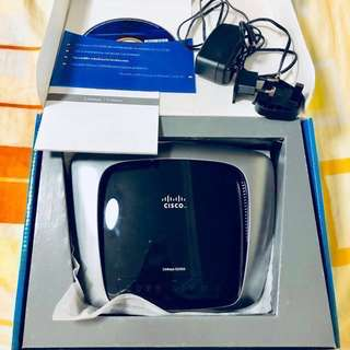 💯Authentic Linksys Advanced Wireless Router(complete set)