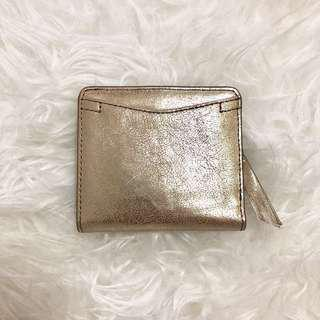 Fossil Coraline RFID Mini Wallet Gold