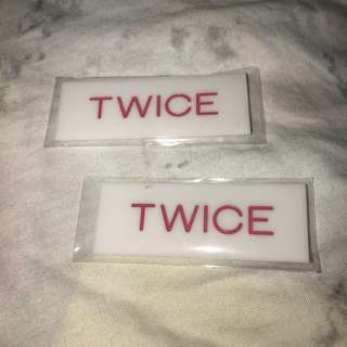 Twice nametag
