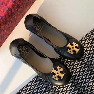 🌸Tory Burch羊皮舒適 魷魚鞋🌹