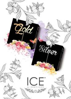 Softlens Ice Gold and Silver