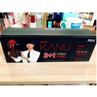 韓國KANU黑咖啡 限量3+1版本 120入