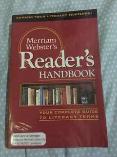 Merriam Webster's Reader's Handbook