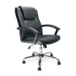 highbacl office leather chair w/armrest - jitzj2160