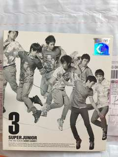 Super Junior 3rd Album - Sorry Sorry Audio CD