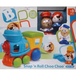 BKids - Snap 'n Roll Choo Choo Playset