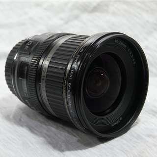 Canon EF-S 10-22mm F3.5-4.5 \ 超廣角變焦鏡 \ 極限便宜價