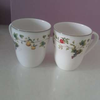 Brand New Narumi Fine China Cups (Set of 2)