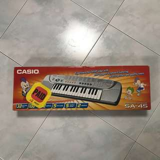 Casio portable keyboard