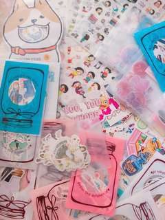 CHEAPEST STICKERS GRAB BAG!!! 🍡🍭