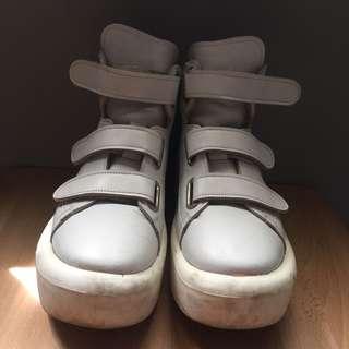 Tokyo bopper belly button umbilical 887 白色厚底鞋 日本製 日系 二手