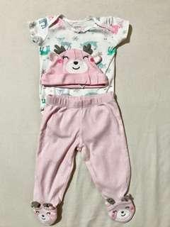 Carter's Onesie, Pajama w/ Beanie
