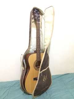 Gitar Akustik Cort full set