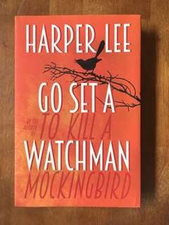 Go Set A Watchman by Harper Lee Hardcover Novel (Brand New)