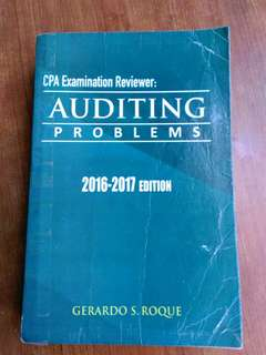 Audit Prob by Roque 2016-2017 ed
