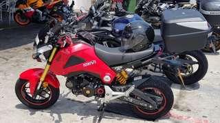 Honda Grom MSX125 2015