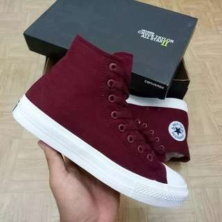 Sepatu Converse Chuck Tayloy II Lunarlon All Star High Port Royal BNIB ORIGINAL