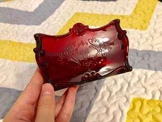Anna Sui 酒紅 化妝膠兜 正版